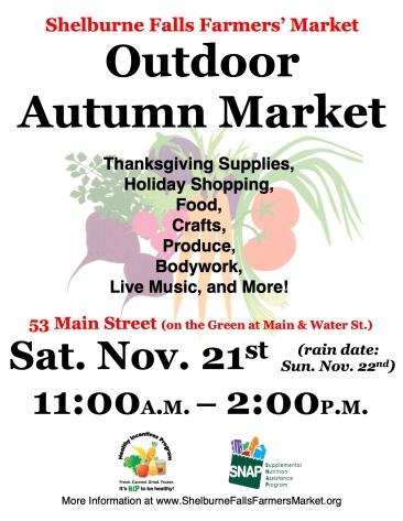 SFFM 2020 Autumn Market Poster